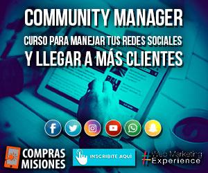 Curso presencial de Community Manager como base del emprendimiento...Inscribite en Compras Misiones
