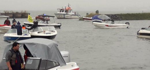 Ni el mal clima pudo detener la pasión: se largó las 20 Horas de pesca en el Club Pirá Pytá