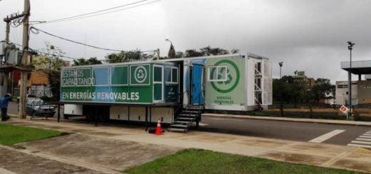 El Aula Taller Móvil de Energías Renovables brindará formación profesional en Posadas