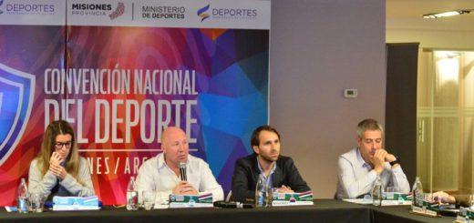 Arrancó la Convención Nacional del Deporte en Misiones
