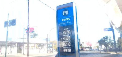 Combustibles en Posadas: tras el aumento del sábado, YPF registra hoy nuevos incrementos