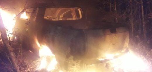 Golpean brutalmente y asaltan a un hombre en Oberá: luego su camioneta apareció incendiada