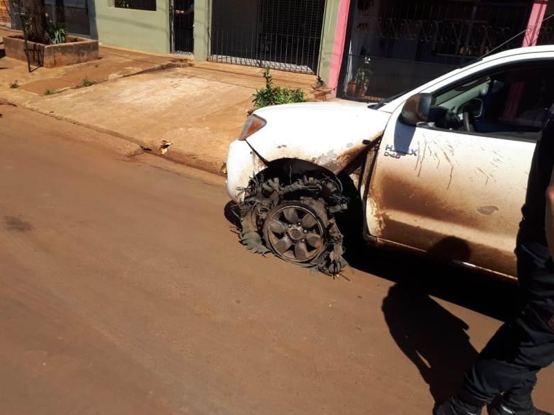 Posadas: conductor ebrio huyó tras un siniestro vial, «ofreció» dinero a los policías y terminó detenido