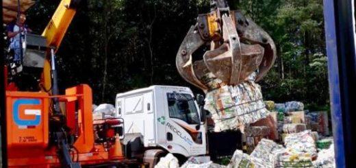 Montecarlo vendió 40 mil kilos de material reciclado de su planta de tratamiento de residuos