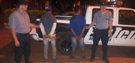 Detienen a dos hombres acusados de lesionar con un machete a un adolescente en Campo Viera