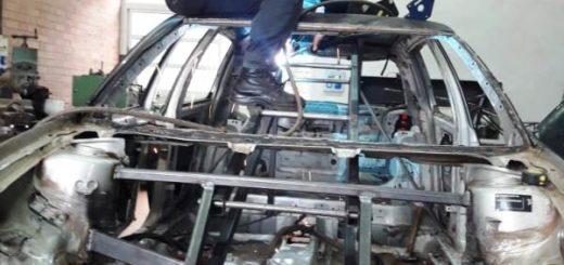 """Alumnos de la EPET 25 de Campo Grande fabrican un """"Transformer"""""""