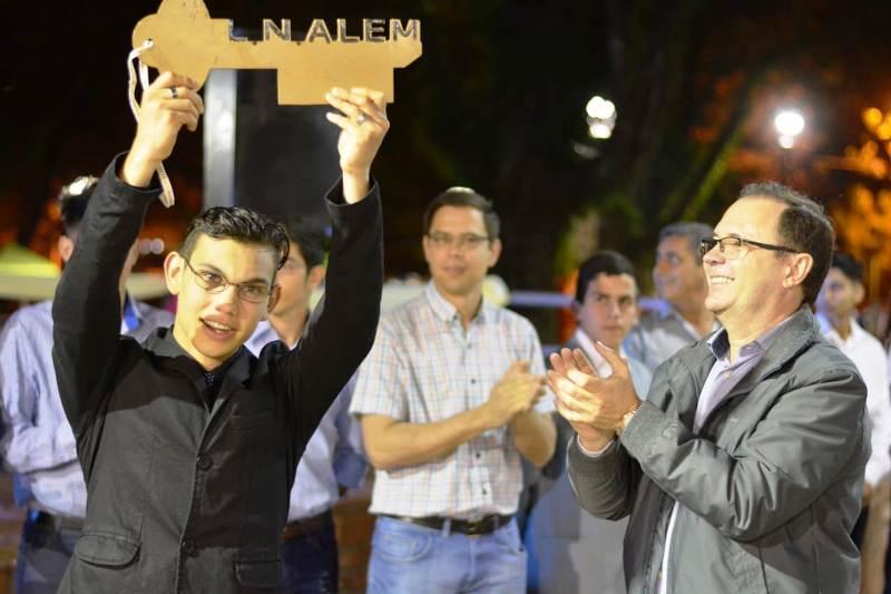Los estudiantes de Alemyatienen la llave de la ciudad