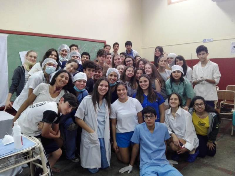 Los estudiantes posadeños realizan distintas actividades para festejar la Semana del Estudiante