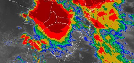 Lluvia y tormentas para la zona centro y norte de Misiones
