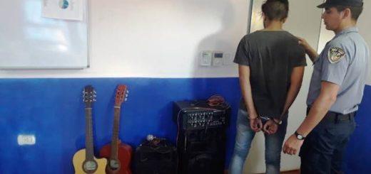 La Policía recuperó instrumentos musicales sustraídos de una iglesia