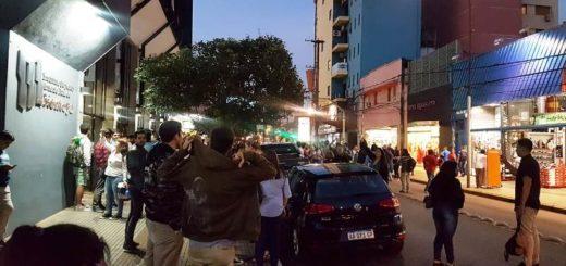Amenaza de bomba en el Montoya: tras una hora de revisión por parte de los bomberos, se habilitó la sala y se proyectó la película sobre Santiago Maldonado
