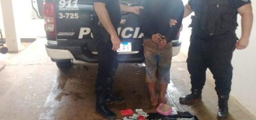 """Tras raid delictivo detuvieron a """"Moroco"""" y recuperan objetos robados"""