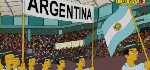 Se viralizó en las redes la versión argentina de Los Simpson