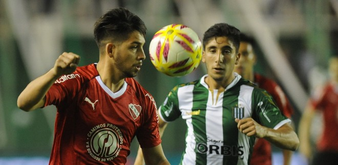 Superliga: Independiente rescató un empate en su visita a Banfield