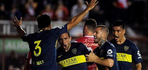 Superliga: A una semana del Superclásico, Boca venció a Argentinos Juniors en la Paternal
