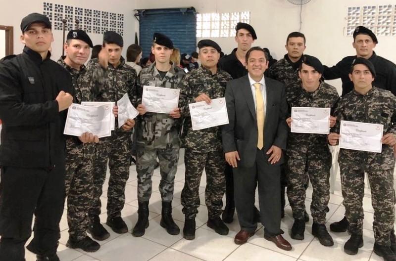 Efectivos del Servicio Penitenciario Provincial se capacitaron en Técnicas Operacionales en Brasil