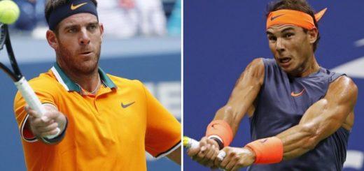 Juan Martín Del Potro-Rafael Nadal, por el US Open: horario, TV, historial y cómo puede quedar el ranking