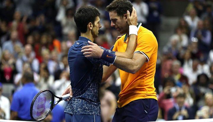 Tras caer ante Djokovic , cuál es la nueva ubicación de Juan Martín Del Potro en el ranking