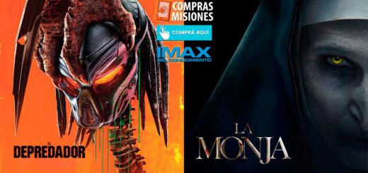 La Monja y El Depredador siguen en el IMAX del Conocimiento... Adquirí tus entradas en Compras Misiones