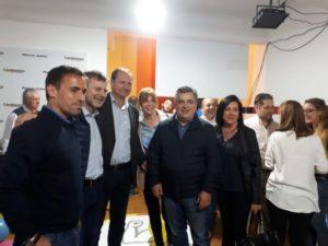 En Córdoba, Cambiemos retuvo la intendencia de Marcos Juárez y Macri lo celebró
