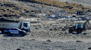 Sin resultados positivos, terminaron las excavaciones en estancia de Lázaro Báez en Santa Cruz