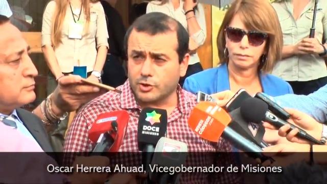 """Feria Forestal 2018: El vicegobernador destacó """"la importancia de la sinergia entre el sector privado y el Estado provincial"""""""