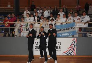 Escuela de Taekwondo ETNA de Andresito se destacó en el Finito Gehrmann