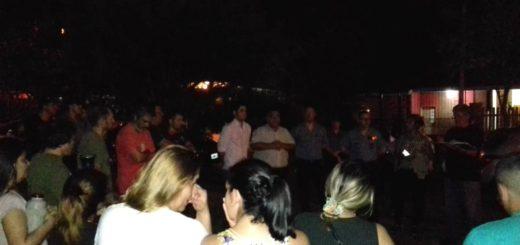 Vecinos de Itaembé Miní se reunieron con autoridades del Ministerio de Gobierno y de la Policía