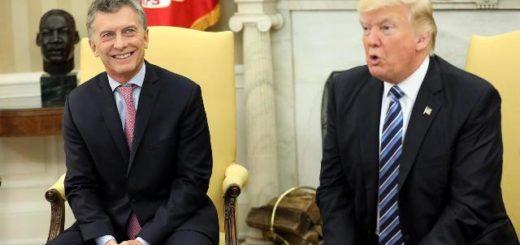"""Donald Trump, tras hablar con Mauricio Macri: """"Hace un trabajo excelente con esta difícil situación económica"""""""