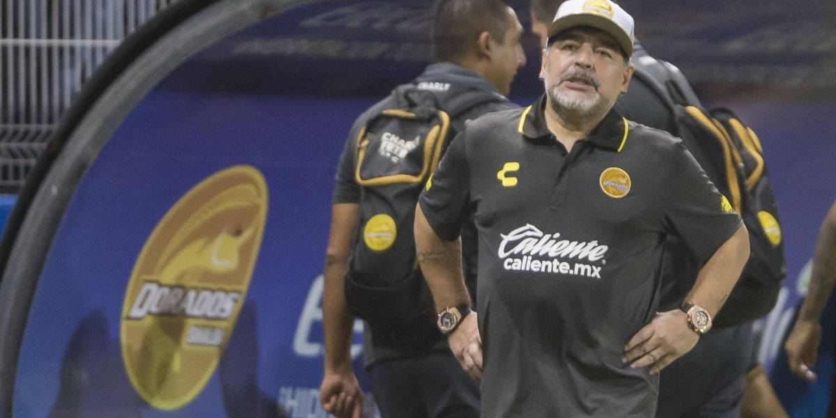 Observá los goles con los que el equipo de Maradona quedó eliminado de la Copa de México