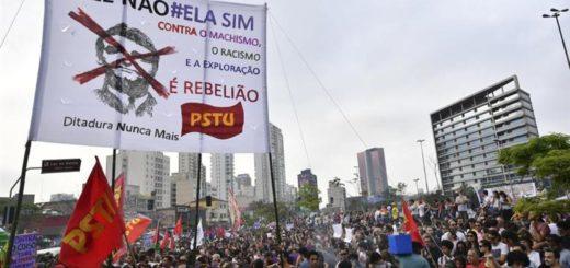 Brasil: Bolsonaro recibió el alta, mientras miles de mujeres se manifestaron en su contra