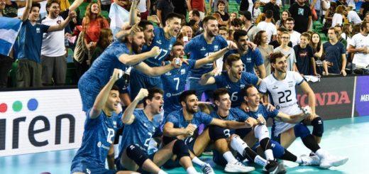 Argentina enfrenta a Eslovenia por el Mundial de Vóley: horario y TV