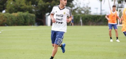 Selección Argentina: Exequiel Palacios le ganó la pulseada a Dybala y será titular frente a Colombia