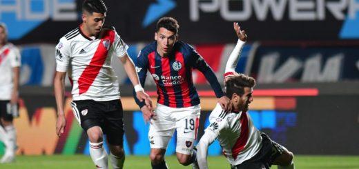 Superliga: San Lorenzo y River igualaron 1 a 1 y siguen sin ganar en el certamen