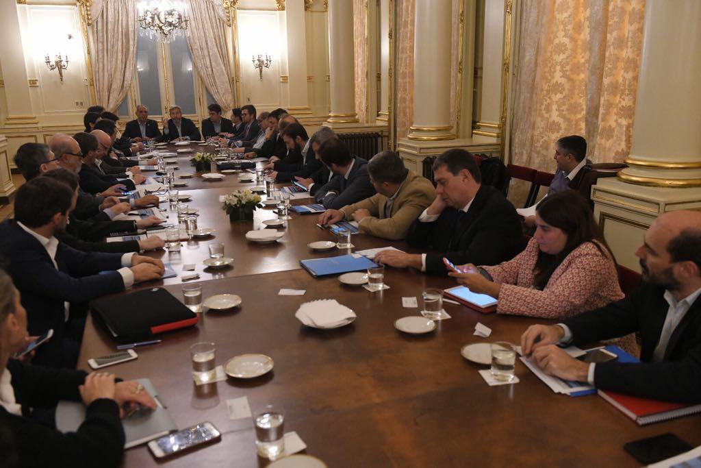Ministros de Economía provinciales se reunieron con Frigerio por el Presupuesto 2019