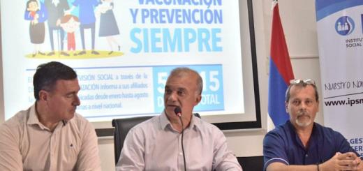 Misiones garantiza una fuerte campaña de vacunación contra el sarampión y la rubeola, pese al recorte de Nación