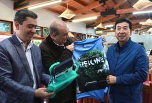 El ministro de Turismo recibió en Iguazú a funcionarios chinos