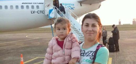 Familiares buscan a misionera que viajaba desde Chubut con su hija hacia Misiones y nunca llegó