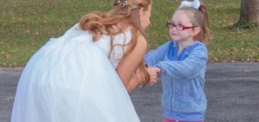 La conmovedora reacción de una niña con autismo durante una boda
