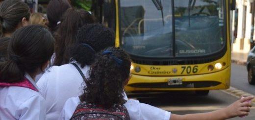 Marcharon en Posadas en defensa del Boleto Estudiantil Gratuito