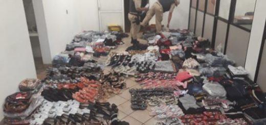 Alba Posse: La Prefectura secuestró un cargamento de mercadería ilegal valuado en más de 855 mil pesos