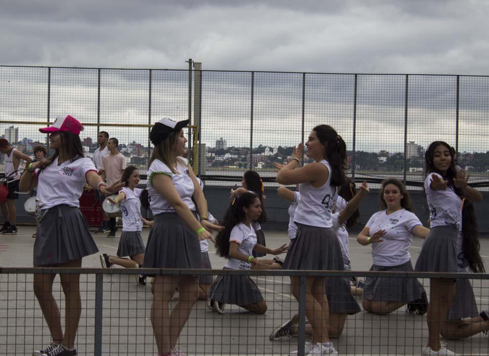 #Estudiantina2018: Contra todo pronóstico se desarrolló la prueba piloto en el Anfiteatro