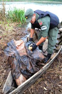 Gendarmería secuestró 88 kilos de marihuana en San Ignacio
