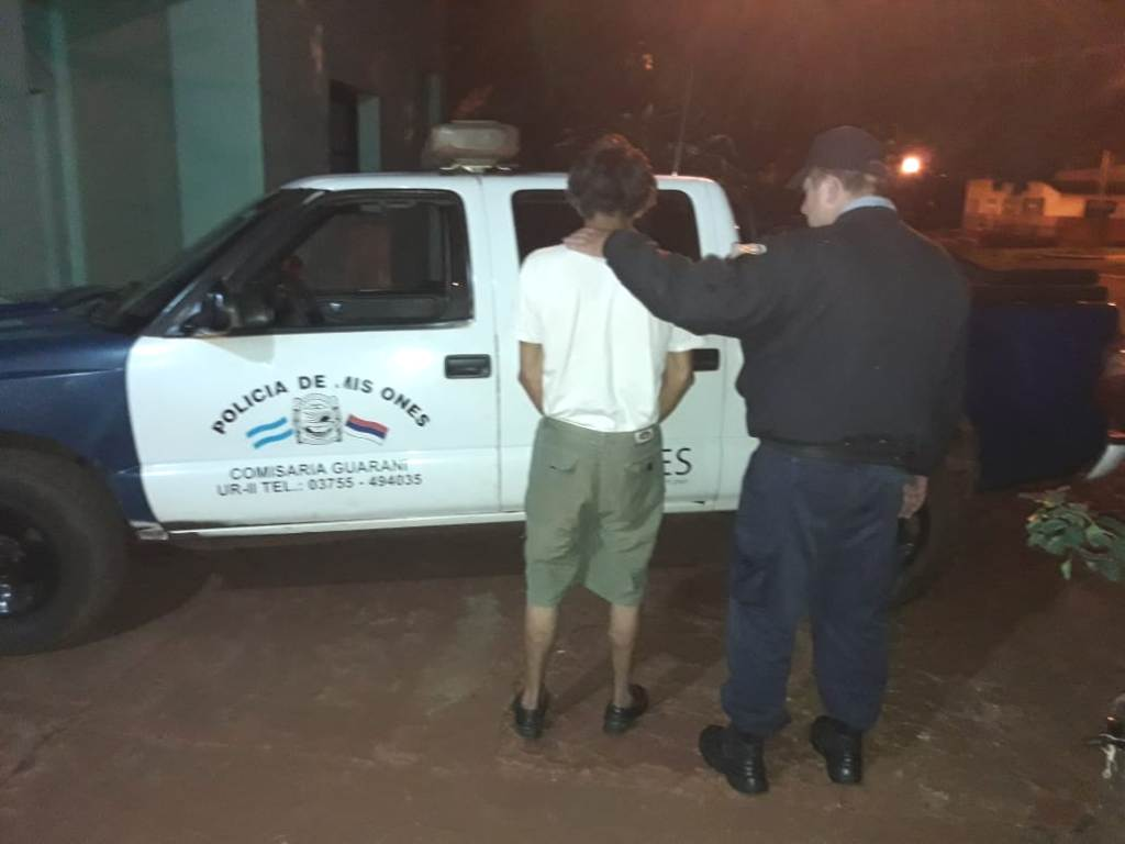 En Guaraní apresaron a un violento que atacó brutalmente a su ex cuñada