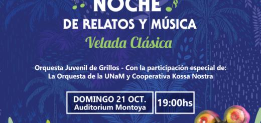 Sumate a la Comunidad de Misiones Online y llevate entradas para disfrutar del concierto de Grillitos Sinfónicos
