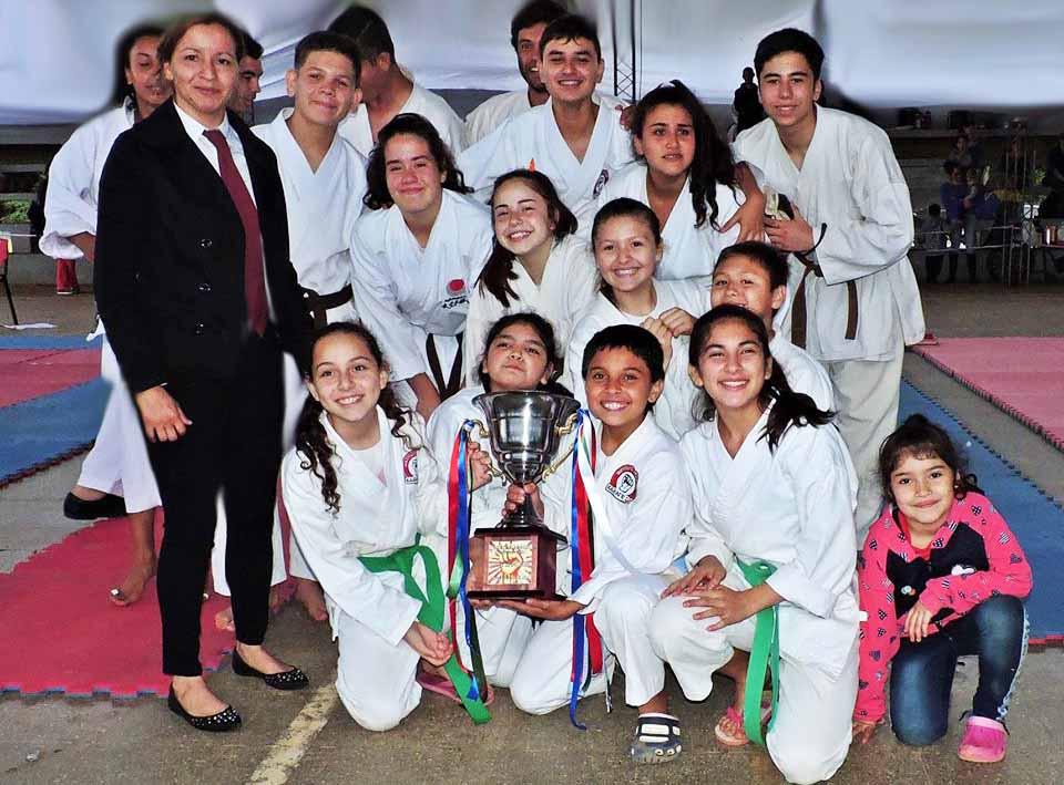 Exitoso Torneo Provincial de Karate en Candelaria