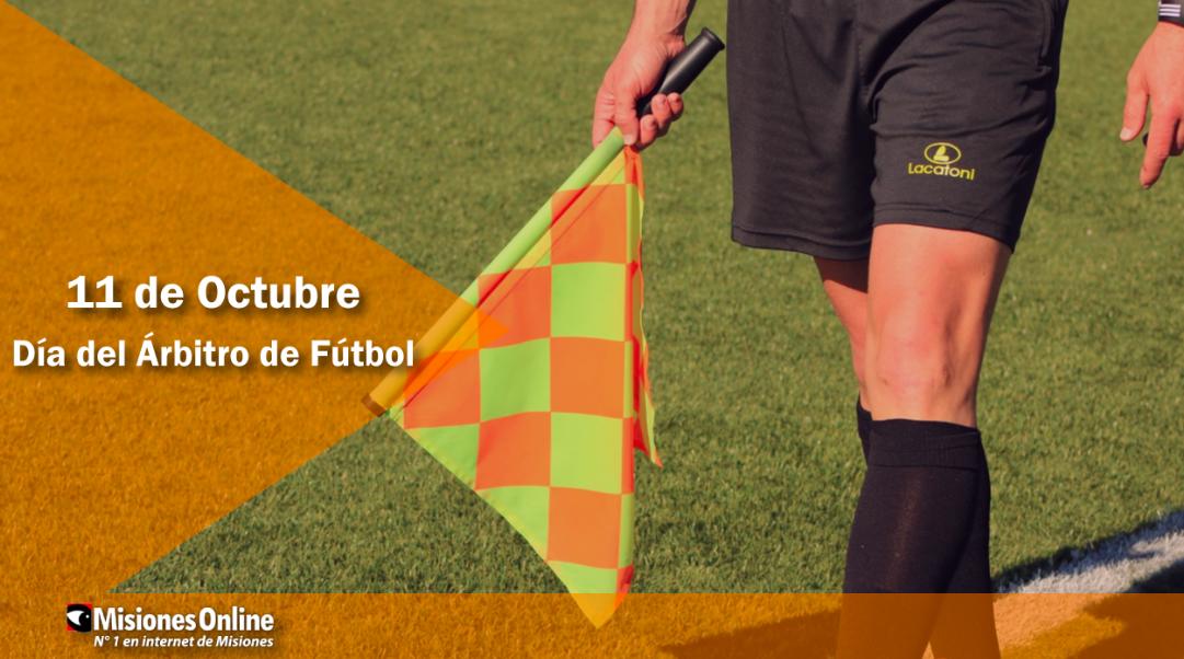 Hoy se celebra el Día Mundial del Árbitro de fútbol