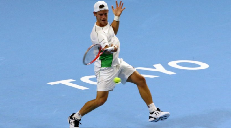 Schwartzman perdió tras debutar en el ATP 500 de Tokio