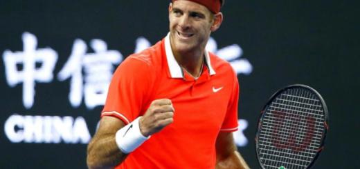 ATP de Beijing: Juan Martín Del Potro ganó y se metió en las semifinales