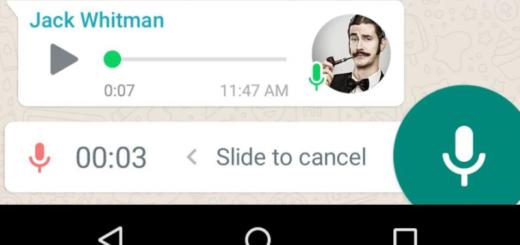 WhatsApp te permite escuchar mensajes de voz antes de enviarlos